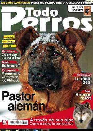Revista Digital - Todo Perros - Pastor Alemán