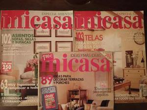 Revistas Mi Casa 3 Unidades