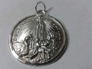 Se Vende La Medalla De La Virgen De Fatima En Plata Ley 950