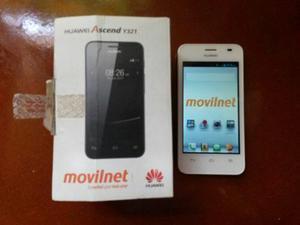 Telefono Celular Huawei Ascend Y321 Poco Tiempo De Uso