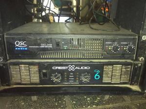 vendo power profesional marca CREST AUDIO, modelo C.A6