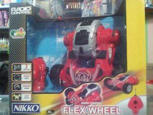 Carro A Control Remoto Nikko Flex Wheel Original En Su Caja