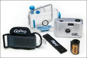 Cámara Acuática Gopro 35mm. A Prueba De Agua. Waterproof