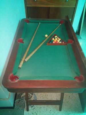 Mesa De Pool Usada De Madera