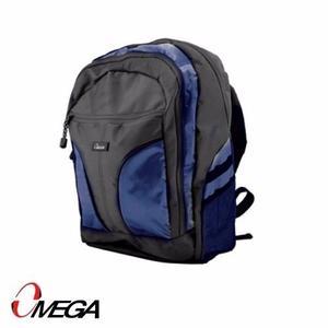 Bolso Morral Mochila Omega Lapto Portatil 15.6 Azul bl