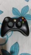 Control De Xbox 360 Negro Sin Tapa.