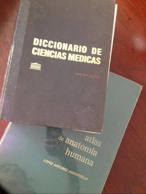 Diccionario de Ciencias Medicas Y Atlas