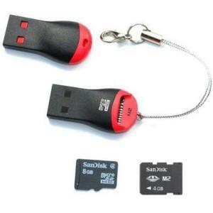 Lector Adaptador Para Memorias Micro Sd A Usb 2.0, Nuevos...
