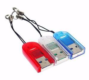 Lector Memoria Micro Sd Adaptador Usb Tipo Pendrive Celular