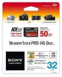 Memoria 32gb Sony Memory Stick Pro-hg Duo