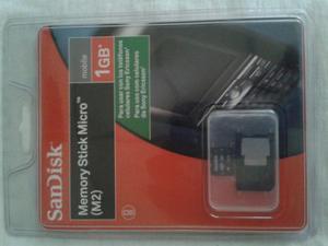 Memoria M2 Para Sony Ericsson O Sony. Memory Stick M2. Micro