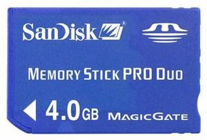 Memoria Pro Duo 4gb Sandisk