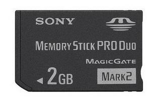 Memoria Sony Pro Duo 2gb Magicgage Mark2