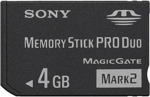 Memory Stick Pro Duo 4gb Sony Con 8 Juegos