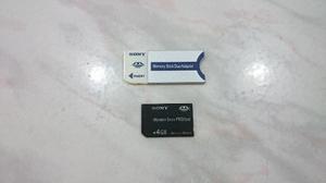 Memory Stick Pro Duo 4gb Sony (original)