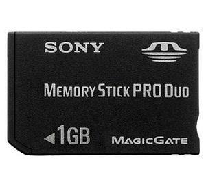 Memory Stick Pro Duo Sony 1 Gb (perfecto Estado)