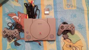 Playstation 1 Original 2 Controles Juego Memoria Buen Estado