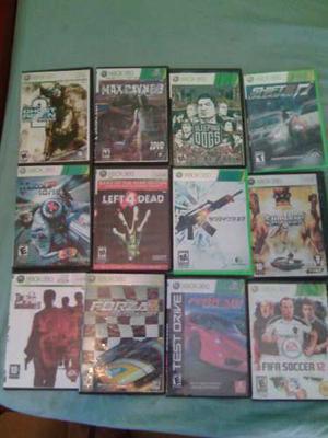 Se Vende Combo De Juegos De Xbox  Juegos)