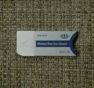 Sony Memory Stick Duo Adaptador M2 / Msac-m2 Original, Usado