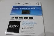 Sony Memory Stick Pro Duo Mark2 De 4 Gb Nuevas En Su Empaque