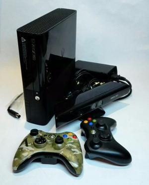 Xbox 360 E Super Slim Con Kinect Y 1 Juego.