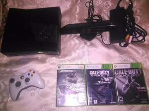 Xbox 360 Kinect 1 Control 3 Juegos Originales (sin Chipear)