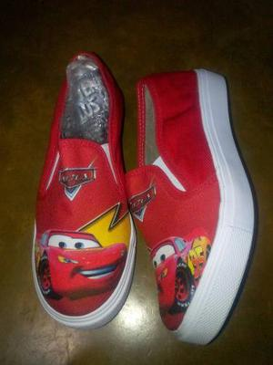 Zapatos Niños Cars Capitan America Spiderman