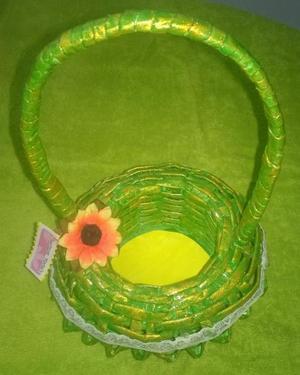 cestas ecologicas, artesanales