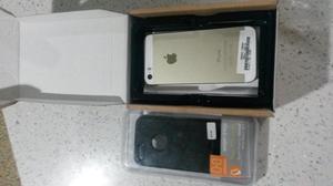 iPhone 5S 16Gb Liberado Gold con forro nuevo