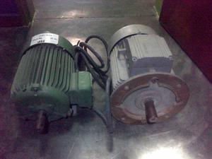 vendo 2 motores trifasico de 3 HP Y 6.6 HP por 450 mil
