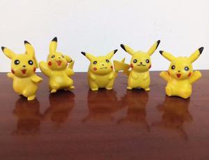 Colección De Figuras Pikachú Pokemón