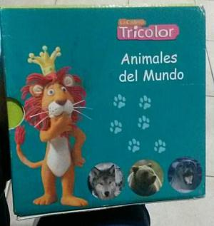 Coleccion Animales Del Mundo Tricolor