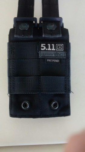 Doble Pistol Mag Pouch Marca Tactical 5.11