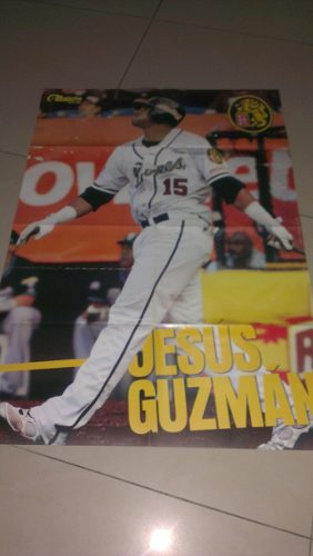 Ljv Afiche Jesus Guzman Leones Del Caracas