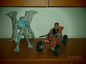 Muñeco Max Steel Con Carro Carting Y Elementor