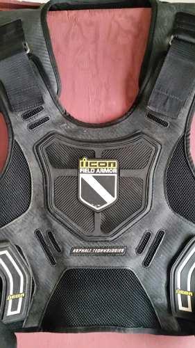 Peto Protector Para Motocross Y Enduro Marca Iicon