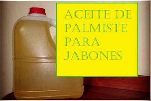 Aceite De Palmiste Para Jabones (saponificacion)