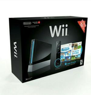 Consola De Nintendo Wii Edición Especial De Color Negro