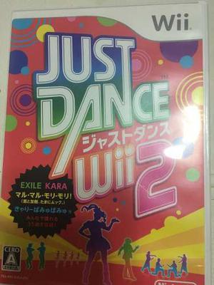 Juego Wii Just Dance 2 Japones