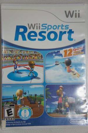 Juego Wii Sport Resort Original