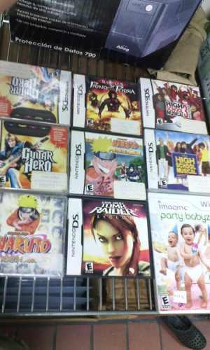 Juegos De Ds Y Wii
