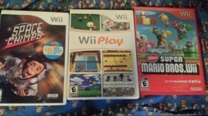 Juegos Nintendo Wii Originales En Perfecto Estado