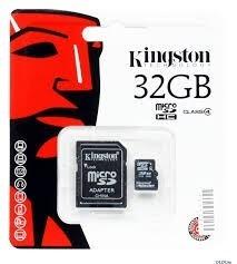 Memoria Micro Sd De 32 Gb Usada