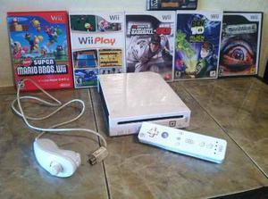 Nintendo Wii Negociable Con Más De 20 Juegos