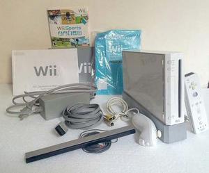 Nintendo Wii Original + 4 Juegos Originales