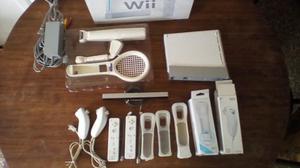 Oferta Nintendo Wii+2controles +2nunchuck+accesorios