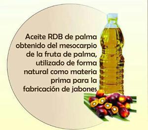 Oleina, Aceite De Palma Rdb, Uso Cosmético.