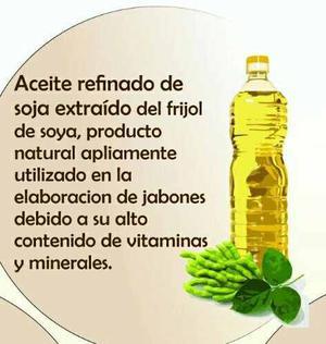 Oleina, Aceite De Soja Rdb, Uso Cosmético.