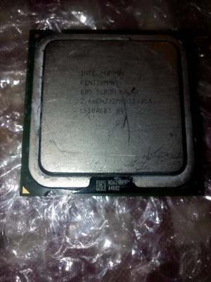 Procesador Intel Pentium D 805 Con Su Disipador De Calor