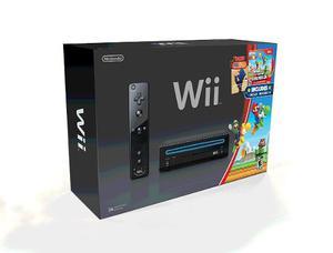 Wii Black Listo Para Jugar En Perfecto Estado